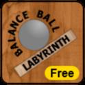Balance Ball Labyrinth Free icon