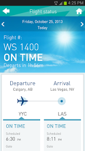 WestJet - screenshot thumbnail