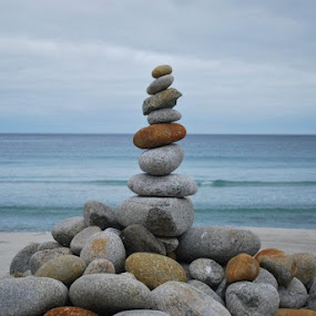 Look What we made!!! by Shelly Hendricks - Landscapes Beaches