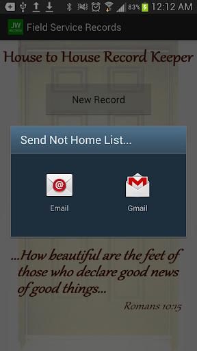 【免費生產應用App】JW Records-APP點子