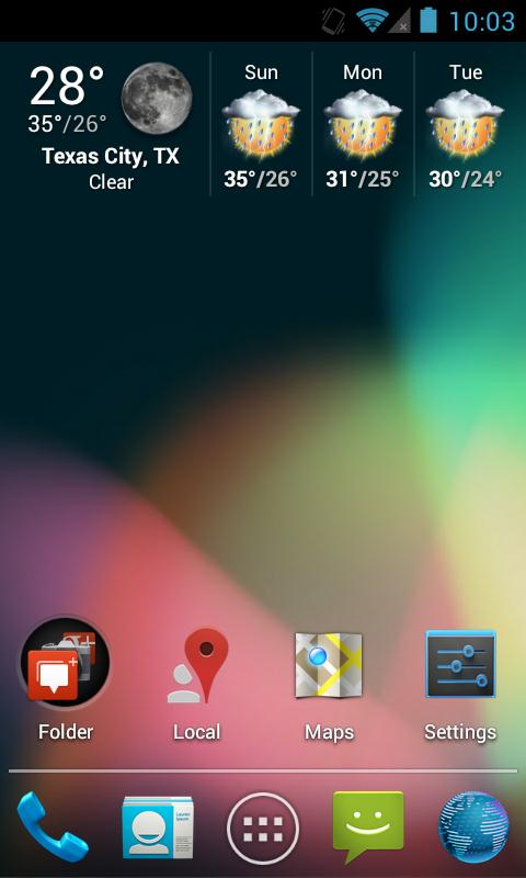 Jelly Bean Apex / Nova Theme- screenshot