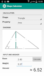 Shape Calculator v1.7