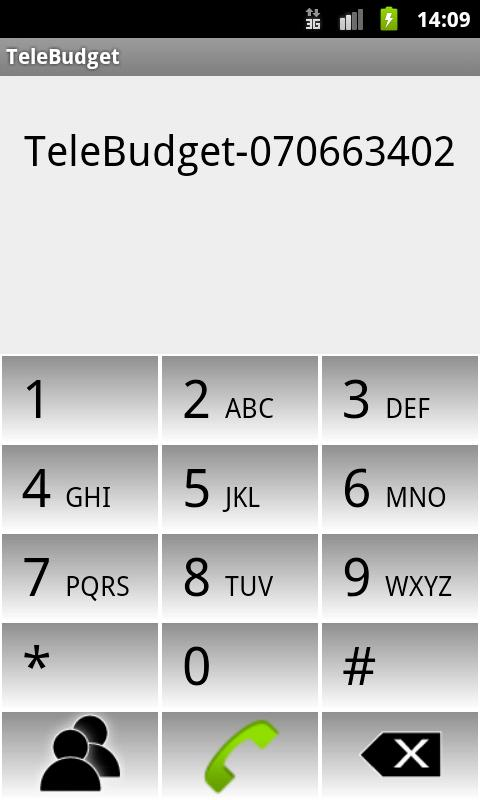TeleBudget- screenshot