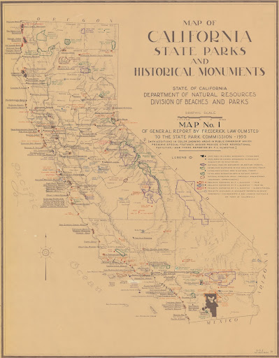 Map Of California State Parks.California State Parks Google Arts Culture