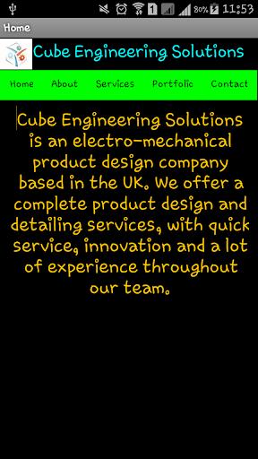 【免費商業App】Cube Engineering Solution LTD-APP點子