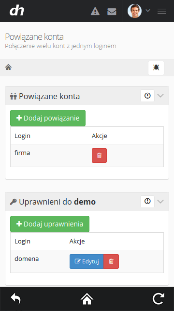 dhosting.pl- screenshot