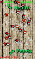 Screenshot of Santa Spider Smash