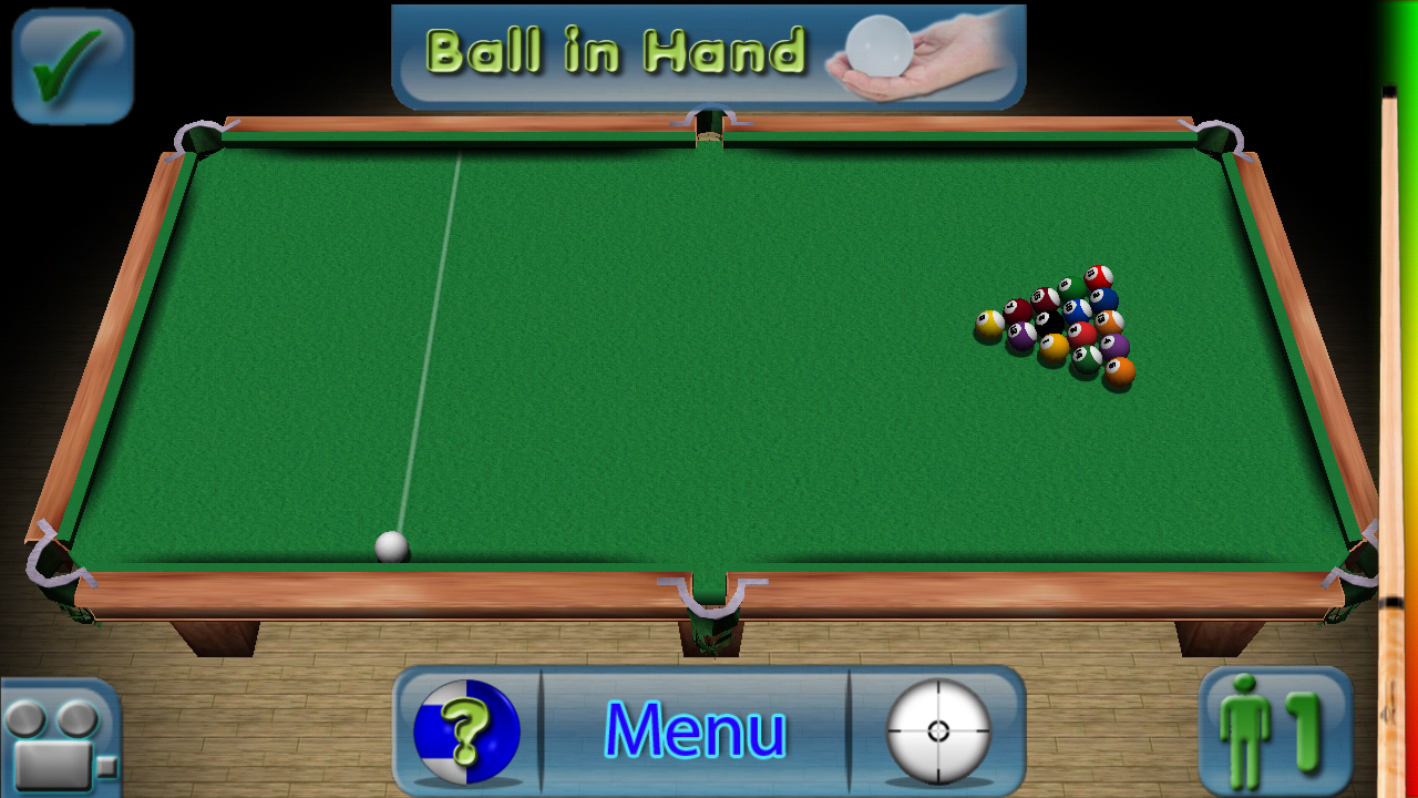 3D Pool Master Pro 8-Ball - screenshot