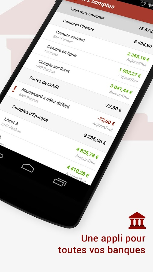 Linxo: budget, argent, finance - screenshot