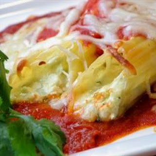 Make Ahead Manicotti