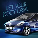 Peugeot208-Let your body drive icon