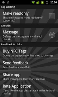 NFC Checkin- screenshot thumbnail