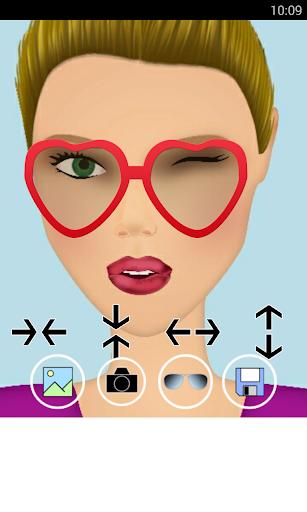 照片編輯器 眼鏡