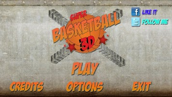 Screenshot of Super Basket 3D Tegra Version