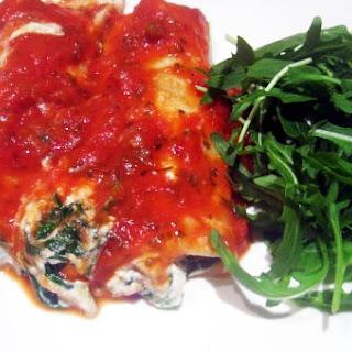 Tofu & Spinach Cannelloni (Manicotti) Recipe