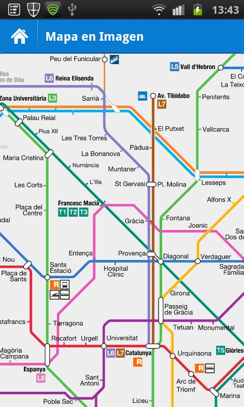 Metro Barcelona- screenshot
