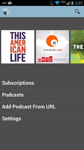 MongoPod Podcast Player Lite