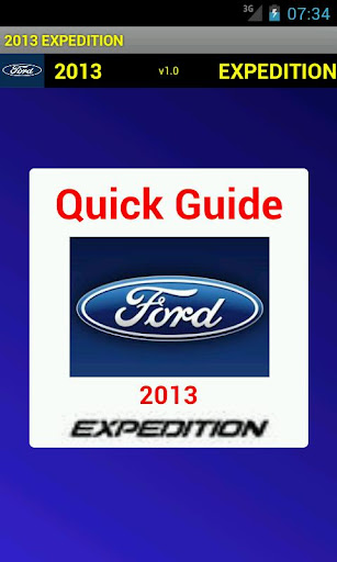 Quick 2013 Ford Expedition
