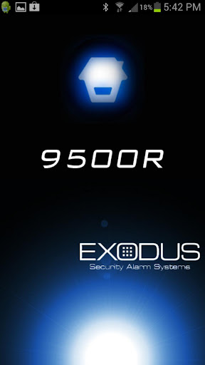 EXODUS GSM 9500R ALARM APP