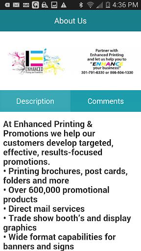 Enhanced Printing App