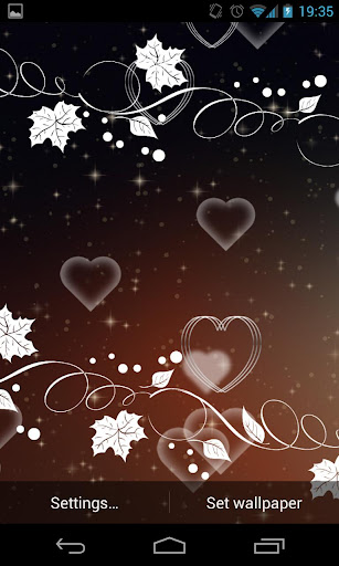 Heart Live Wallpaper Free 2.0 screenshots 6