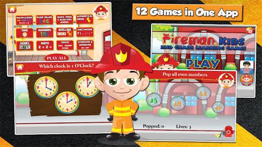 Fireman Kids Grade 2 Games