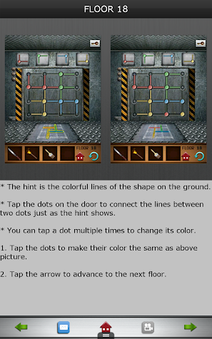 100 Floors Official Cheats Screenshot