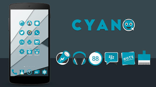 CYANO - Solo Icon Pack