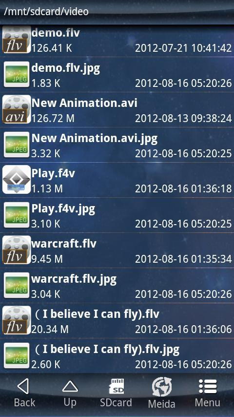MediaPlayer(FLV-RM-RMVB-FLV) - screenshot