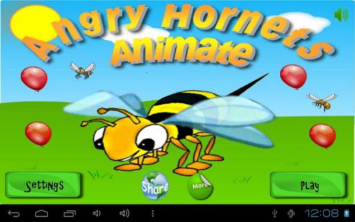 Angry Hornets Animate
