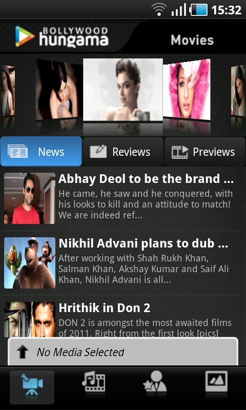Bollywood Hungama- screenshot