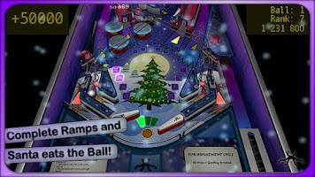 Screenshot of Xmas Pinball