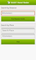 Screenshot of Hotel Finder