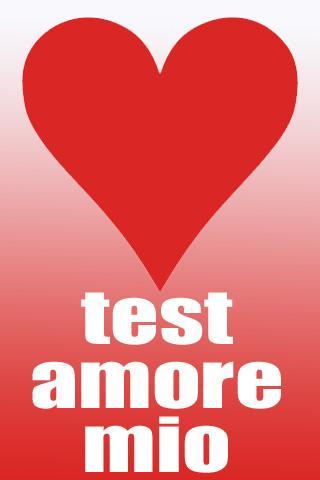 Test Amore mio gratis
