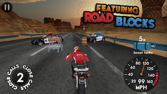 بازی موتور سواری در اتوبان Highway Rider v1.6.1
