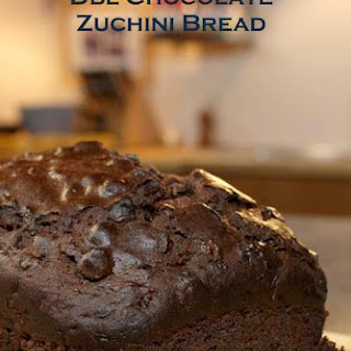 Double Chocolate Zuchini Bread