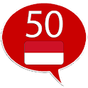 Learn Indonesian -50 languages icon