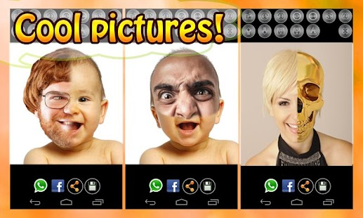 2 Face Maker: Fun Photo Editor - screenshot thumbnail