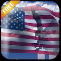 USA Eagle Live Wallpaper Free icon