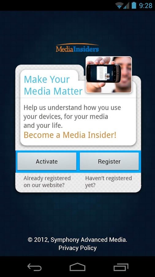 Media Insiders Mobile - screenshot
