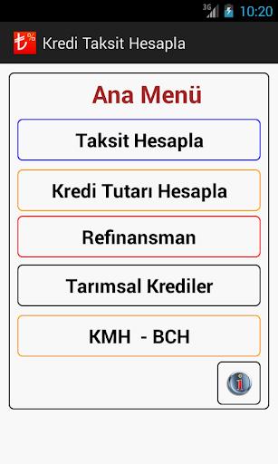 Kredi Taksit Hesapla