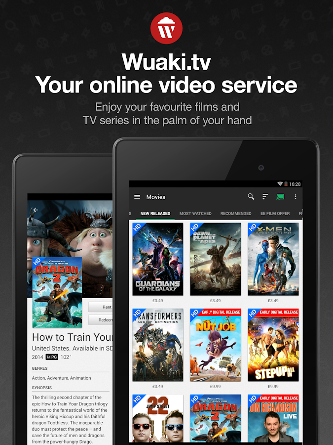 Wuaki.tv - Movies & TV Series - screenshot