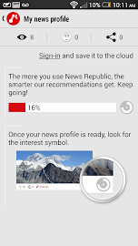 News Republic – Smarter news Screenshot 4