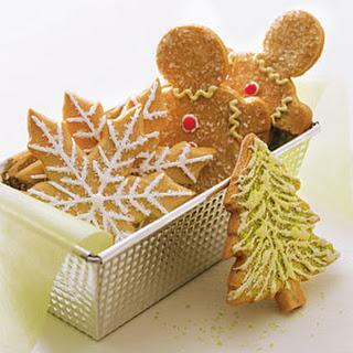 Decorated Sugar Cookies.