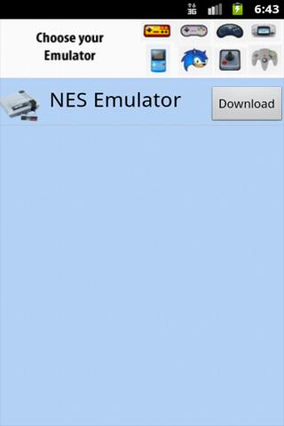 Emulator Player xNES - screenshot