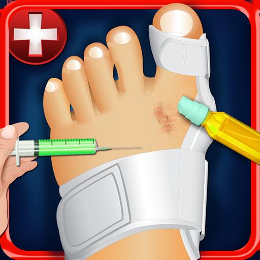 足首の手術シミュレータ2015 角色扮演 App LOGO-硬是要APP