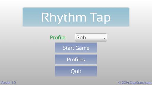 Rhythm Tap - Music Theory Game