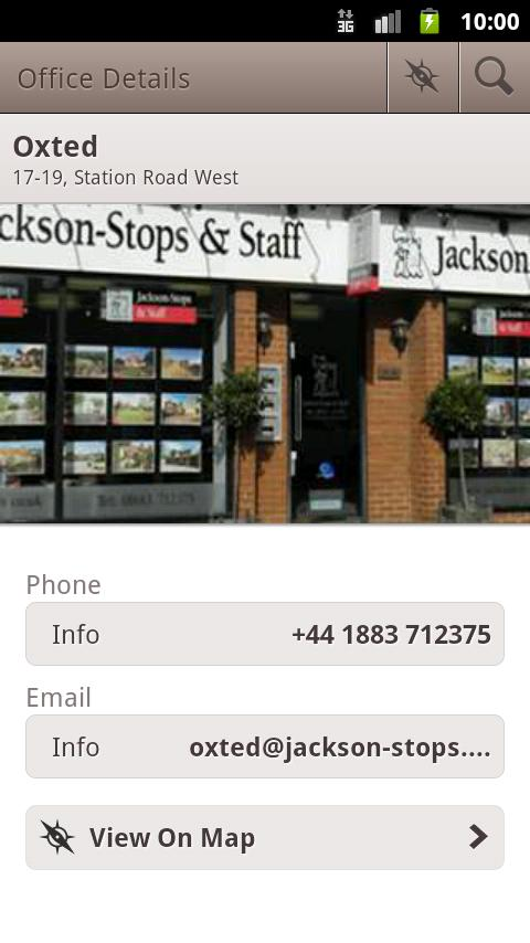 Jackson Stops & Staff App- screenshot