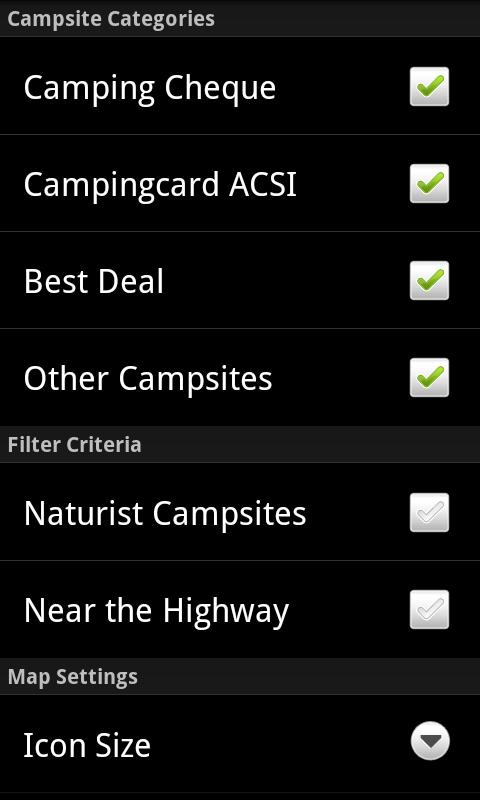 Archiescampings - screenshot
