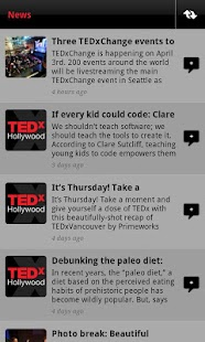 TEDxHollywood - screenshot thumbnail